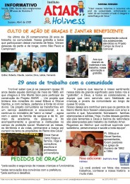 Informativo Abril 2015